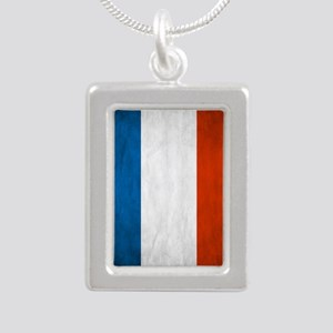 Vintage French Flag Necklaces