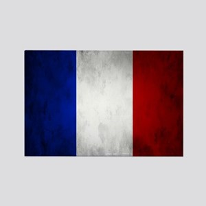 Grunge French Flag Magnets