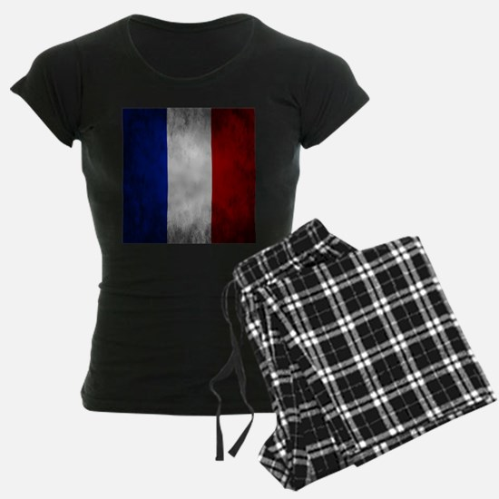 Grunge French Flag Pajamas