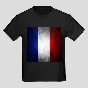 Grunge French Flag T-Shirt