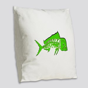 THIS VISION Burlap Throw Pillow