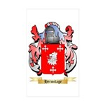 Hermitage Sticker (Rectangle 10 pk)