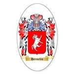 Hermelin Sticker (Oval 10 pk)