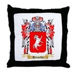 Hermelin Throw Pillow