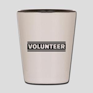 Volunteer staff Shot Glass