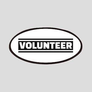 Volunteer staff Patches