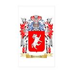 Hermecke Sticker (Rectangle 10 pk)