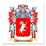 Hermanszoon Square Car Magnet 3