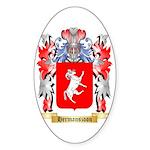 Hermanszoon Sticker (Oval 10 pk)