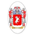 Hermansson Sticker (Oval 50 pk)