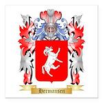 Hermansen Square Car Magnet 3