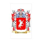 Hermansen Sticker (Rectangle 50 pk)