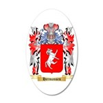 Hermansen 20x12 Oval Wall Decal