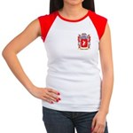 Hermanoff Women's Cap Sleeve T-Shirt