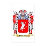 Hermaning Sticker (Rectangle 50 pk)