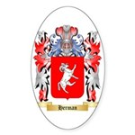 Herman Sticker (Oval 50 pk)