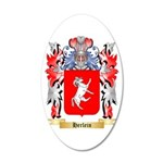Herlein 20x12 Oval Wall Decal