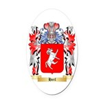 Herl Oval Car Magnet