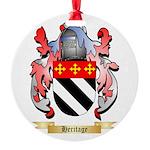 Heritage Round Ornament