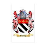 Heritage Sticker (Rectangle 50 pk)