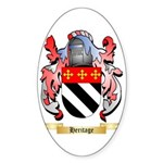 Heritage Sticker (Oval 50 pk)