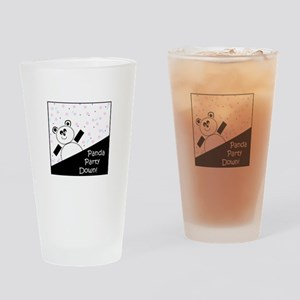 Panda Party Down Drinking Glass