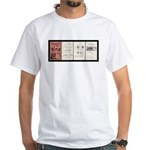 1933 Traffic Regulations White T-Shirt