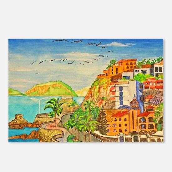 Mazatlan Postcards (package Of 8)