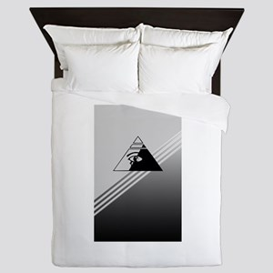 Illuminati Queen Duvet