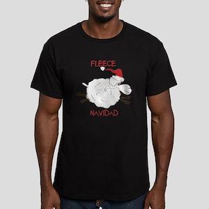 CUTE Fleece Navidad Sheep T-Shirt
