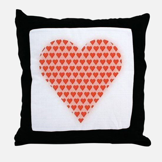 Well Red Throw Pillow