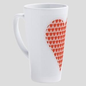 Well Red 17 oz Latte Mug