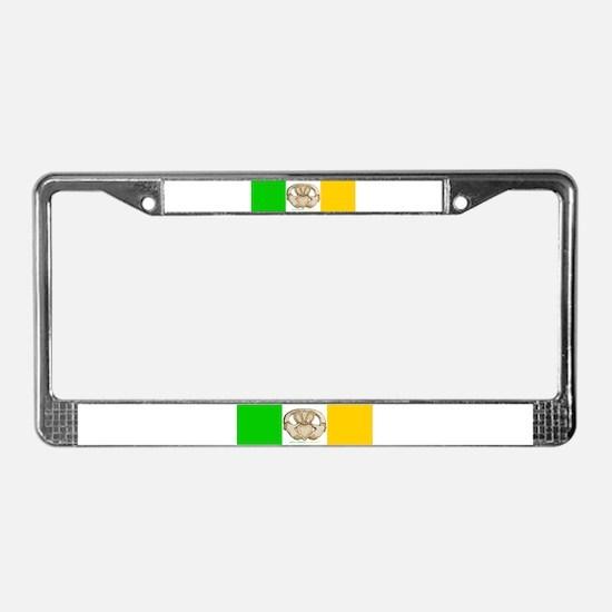 Irish Claddagh License Plate Frame