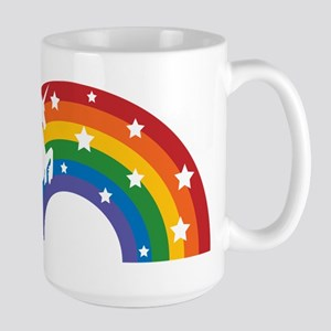 Retro Rainbow Unicorn Stainless Steel Travel Mugs