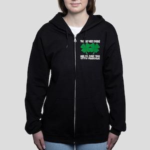 pat3black Women's Zip Hoodie