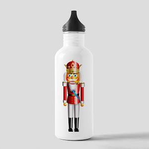 Funny Nutcracker King Stainless Water Bottle 1.0L