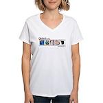 Christy Studios Promo Women's V-Neck T-Shirt