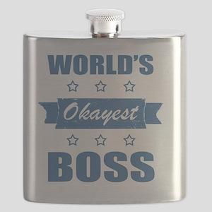 World's Okayest Boss Flask