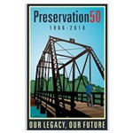 Preservation50 Bridge Large Poster