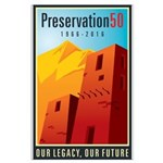 Preservation50 Adobe Large Poster
