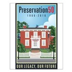 Preservation50 House Small Poster