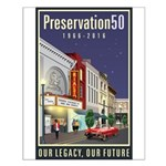 Preservation50 Main Street Small Poster