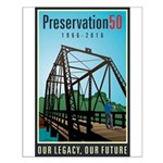 Preservation50 Bridge Small Poster