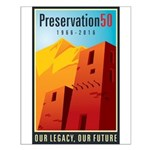 Preservation50 Adobe Small Poster