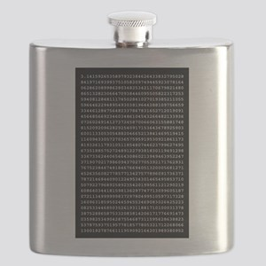 1000 Places of Pi Flask