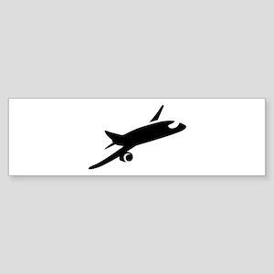 Airplane Sticker (Bumper)
