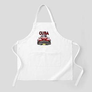 Old Car Cuba Apron