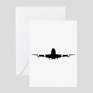 Airplane aviation Greeting Card