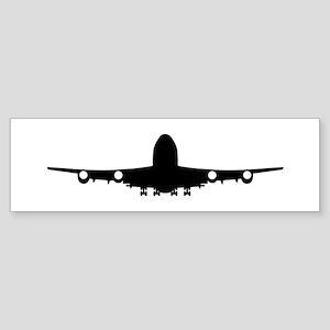Airplane aviation Sticker (Bumper)