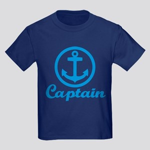 Anchor captain Kids Dark T-Shirt